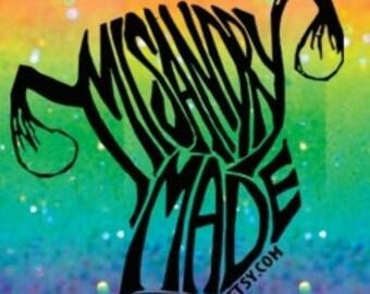 Misandry Made Sticker