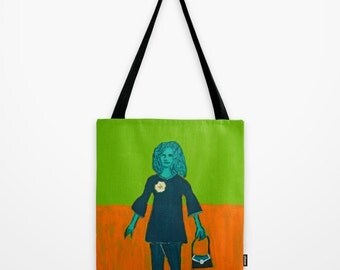 "Tote Bag ""Gone Shopping"""