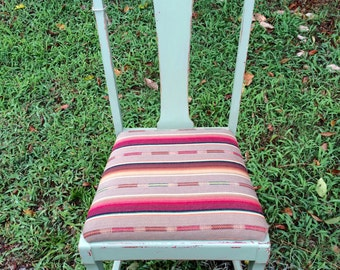 Chair, Chalkpainted, green