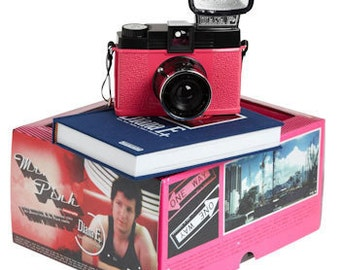 Diana F+ Camera Lomography Mr Pink in box