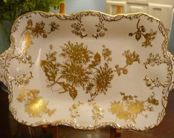 Hammersley Bone China Chryrsanthemum Tray