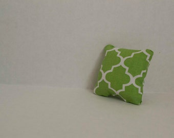 BJD Green Throw Pillow