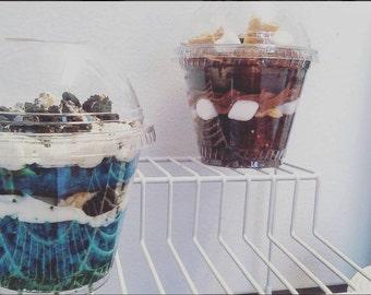 Vanilla Birthday Cake OREO Cupcake Jar