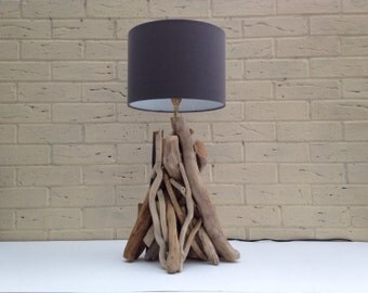 Handmade Entwined Driftwood Lamp