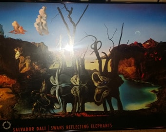2 Salador Dali, Framed Prints