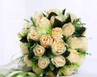 Handmade Flowers Wedding Bouquet