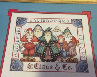 Sugarplum Delights S. Clause and Company counted cross stitch kit