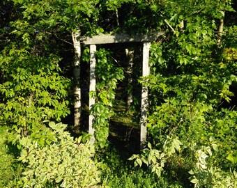 Entrance to an English Garden