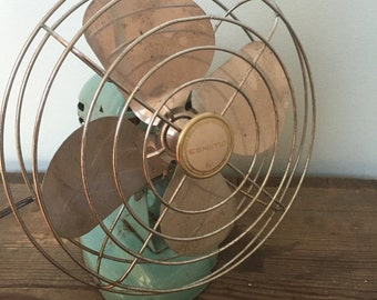Vintage/antique Eskimo fan, mid century design.