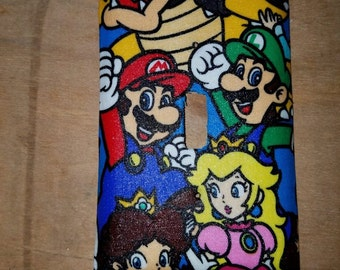 Nintendo Character Light Switch Cover (Super Mario Bros., Donkey Kong, and more)