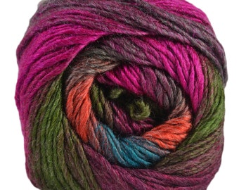 King Cole Riot DK 100g Acrylic Wool Blend Multi Coloured Knitting Yarn WICKED 402