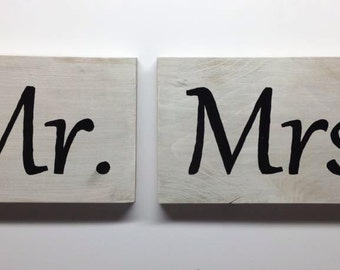Couples Wedding Sign Rustic Wood Painting Home Decor