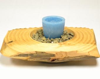 Zen-inspired candlestick / Candle holder Zen-inspired