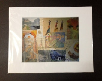 """Archival Art Print """"Remembrance""""Matted and Numbered"""