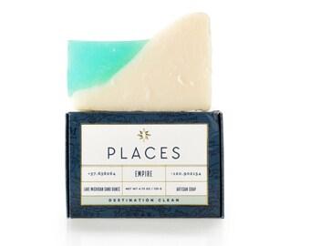 Cold Process Soap - Cold Process Artisan Soap - Cold Process Soap Bar - Lake Michigan - Luxury Soap - All Natural Soap - Natural Soap Bar