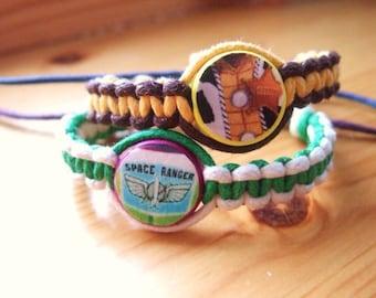 Toy Story Inspired Friendship Bracelets