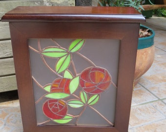 stained glass keybox