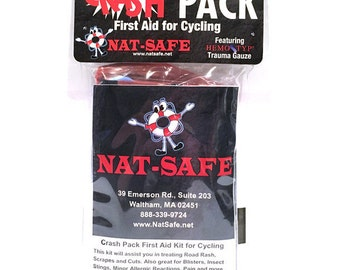 Crash Pack First Aid Kit for Cycling