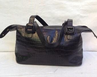 Handbag Vintage . Weekend Bauletto Gemel. Bauletto Vintage. Weekend bag.