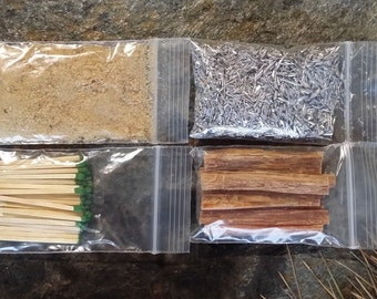 fatwood tinder chips fatwood dust magnesium matches steve kaeser since - Fatwood