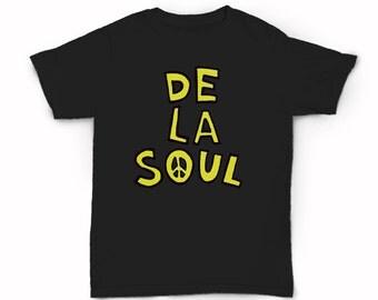 De La Soul Peace T-shirt - Real hip hop - old school - New York City - Native Tongues - A Tribe Called Quest