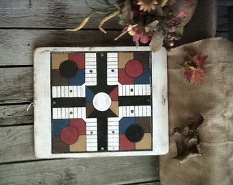 Old Breadboard Parcheesi Gameboard
