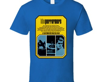 Vintage Surf T-shirt The Performers Film 1965