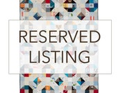 Reserved listing for Christina Memory Quilt, Baby Clothes Quilt, T Shirt Quilt, Patchwork