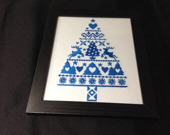 Blue Nordic Tree