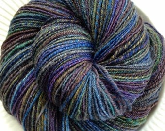 Whispering Wood Handspun SW BFL 3Ply Yarn