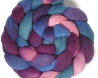 Handpainted Targhee Wool Roving - 4 oz. HAWAII- Spinning Fiber