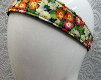 Headband for Girls | Reversible Cotton | Elastic | Headband for Women | Flowers