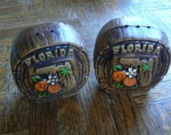 Vintage Florida Salt & Pepper shakers souvenir
