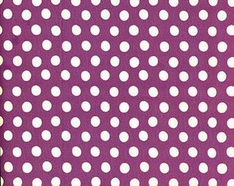 SPOT in LILAC,  Polka Dot  GP70 by Kaffe Fassett Fabric / Westminster Fabric / 1/2  yard Cotton, Quilt Craft and Apparel fabric