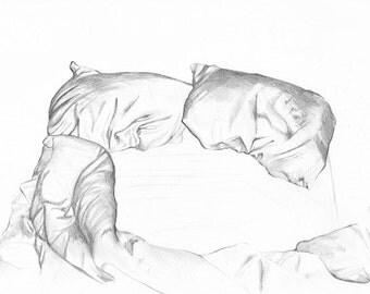 Vulnerable Language 01 - Fine Art Print   Drawing