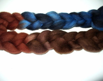 Wool Top Cheviot for Hand Spinning or Felting