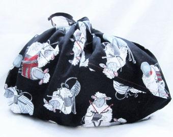 Medium Bento Knitting Project Bag