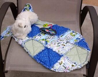 Cat Bed, Fish Shaped Cat Bed, Colorado Catnip Mat, Blue Cat Mat, Beds for Cats, Cat Accessories, Indoor Cat Mat, Fabric Cat Bed, Cat Blanket