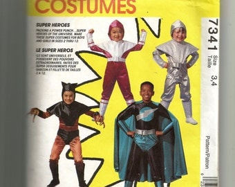 McCall's Super Heroes Costumes Pattern