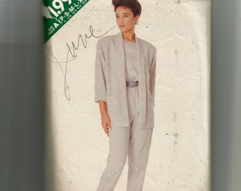 Butterick Misses' Jacket, Top and Pants Pattern 5981