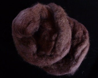 Corry X Hand Dyed Top for Felting Needle Felting Spinning Chox One Ounce