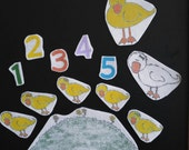 Five Little Ducks Went Out to Play Flannel Board Felt Story