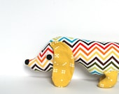 Plush Wiener Dog Stuffed Animal Doxie Dachshund Softie EDISON