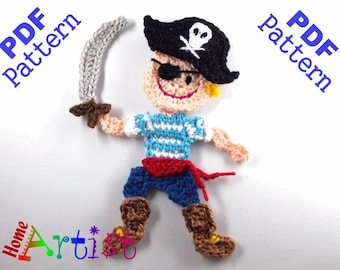 Pirate Crochet Pattern