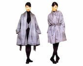 Issey Miyake Oversized Coat Belt Vogue 1386 Sewing Pattern Size 8 - 10 - 12 - 14 - 16 - 18 Bust 31 1/2 - 32 1/2 - 34 - 36 - 38 - 40 UNCUT