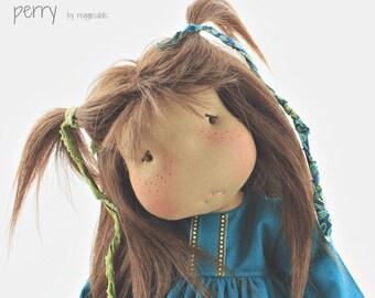 """18"""" Waldorf doll  Darling Perry made by reggiesdolls"""