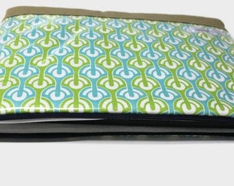 "13 inch MacBook Pro 15"" Laptop Case 11"" Chromebook Sleeve MacBook Air Water Proof  - Garden Rows"