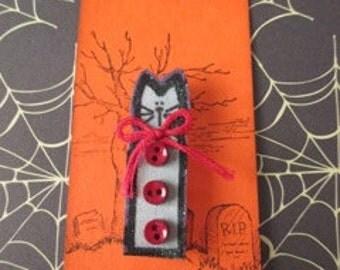 Halloween Fabric Pin - Your Choice