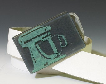 Fused Glass Mixer Buckle