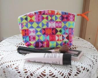 Small Essential Oils Case Cosmetic Bag Clutch Geometric